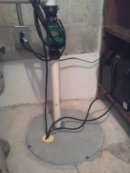 Emergency Sump Pump Installation Cf Electrical Service