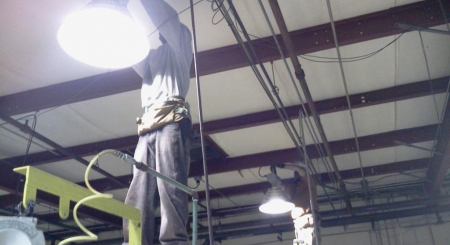 Industrial High Bay Lighting Upgrade and Installation