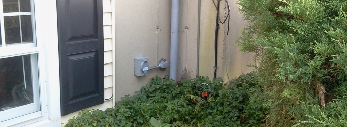 Portable Generator Transfer Switch Installation