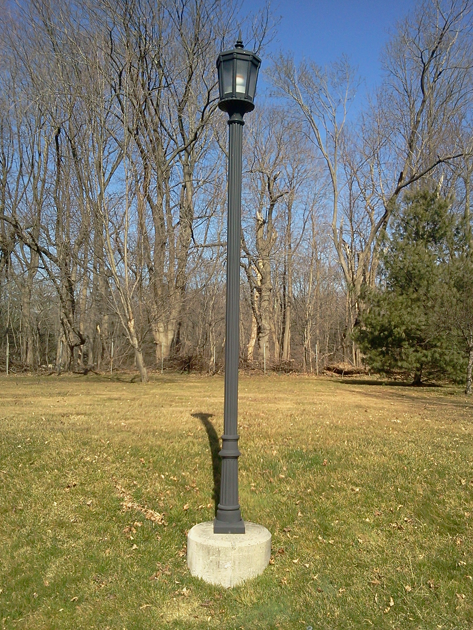 Light Pole Replacement And Upgrade At The Green At The
